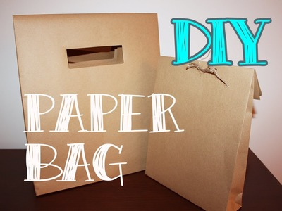 Bolsas de papel - DIY