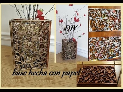 DIY Base de papel