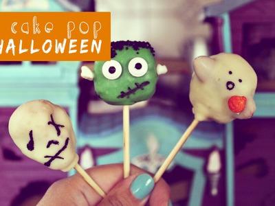 DIY Cake pop Halloween