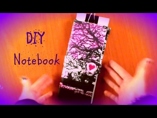 DIY Crea una libreta reciclada Facil y Rapido