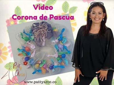DIY Ideas de Pascua. Corona