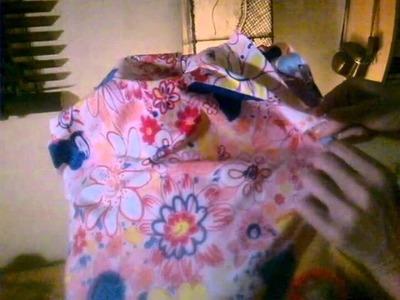 DIY Restauración de Maniquí - forrado de tela (1.3)