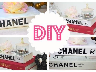 DIY: transforma tus libros y ahorra dinero| Libro Chanel