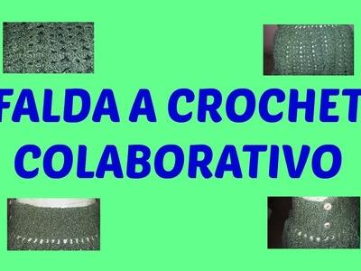 FALDA A CROCHET COLABORATIVO CON DIY INSPIRATION