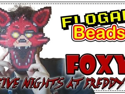 FOXY (FNAF) - DIY - Tutorial Pearl.Hama Beads para Gamers - FloGar o.O