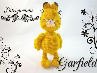 GARFIELD Amigurumi en ganchillo - Crochet