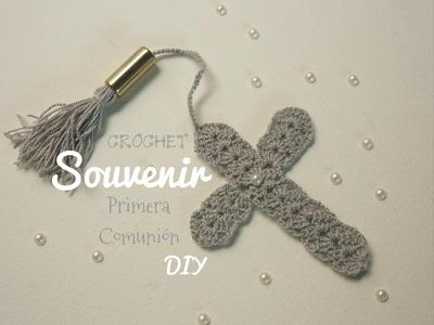 Manualidades: SOUVENIR  de Primera Comunión.Crochet DIY ♥ Sor Amparo Arredondo R.