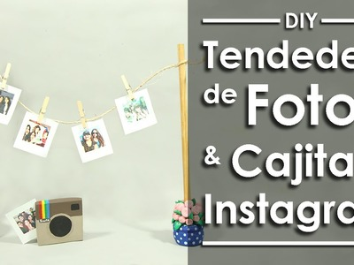 Tendedero de Fotos -DIY