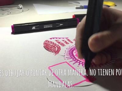 Última hora DIY San Valentín - Mandala Heart Art