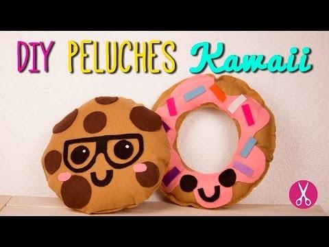 Cómo hacer peluches Kawaii - DIY Cojines Decorativos Sin Coser - Decora tu cuarto  Catwalk