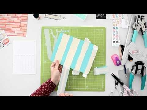 Cómo hacer un calendario de pared - TUTORIAL Scrapbook y DIY - Kit de material disponible