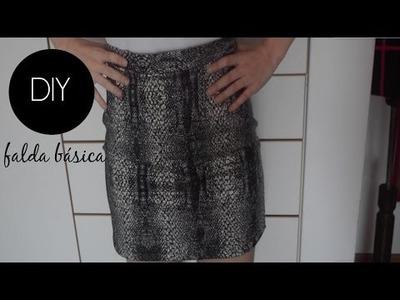 DIY : Como hacer una Falda Básica!  Patrón Gratis