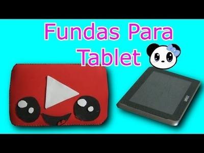 DIY FUNDA PARA TABLET | Dayis Panda
