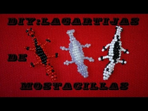 DIY: Lagartijas de Mostacillas (Fácil Regalo) - Cata