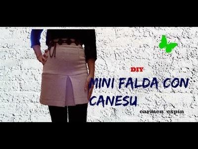DIY:MINI FALDA CON CANESU