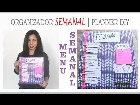 DIY ORGANIZADOR SEMANAL | SUEMYLUCIO