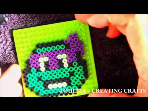 DIY - PERLER BEADS - NINJA TURTLES