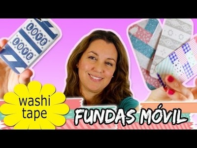 FUNDAS para movil o celular con WASHI TAPE * DIY Iphone case