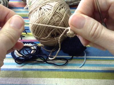 Adorno Colgante En Crochet