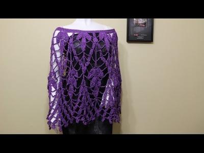 Capa color Uva Crochet