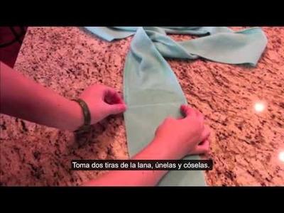 Cómo tejer una manta gigante