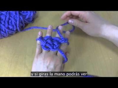 Como Tejer Con Los Dedos