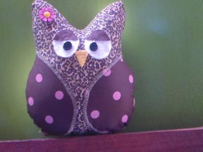 Peso de porta de coruja (owl doorstop)
