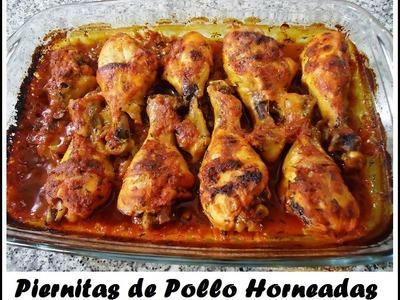 Piernitas de Pollo Horneadas, recetita deliciosa y facilita