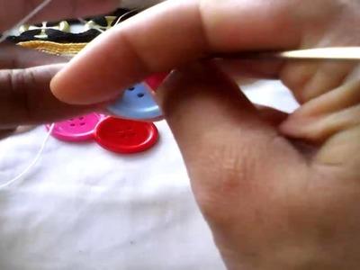 Pulsera con botones primera parte