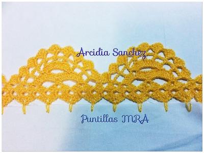 Puntilla para servilleta MRA Arcidia Sanchez