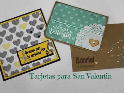 Tarjetas para San Valentin.  sin colores de San Valentin * Creaciones Izzy