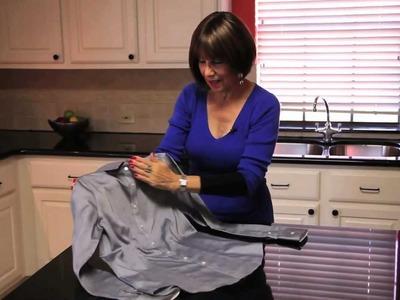 Como doblar una camisa para viajar! - Rebeca Nesselrode, Consultor de moda