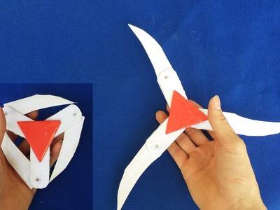 Como hacer una estrella ninja de papel | Shuriken