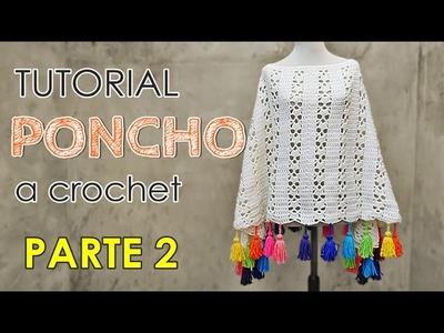 Como tejer un poncho a crochet en todos los talles (2 de 3)