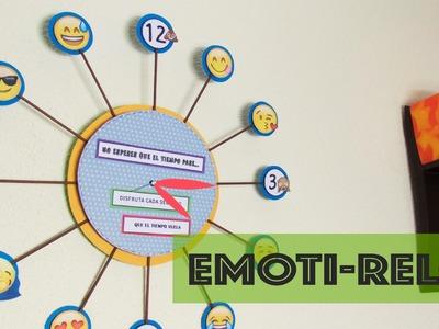 EMOTI- Reloj Ideas para #Decorar