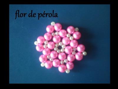 Flor de pérolas 1