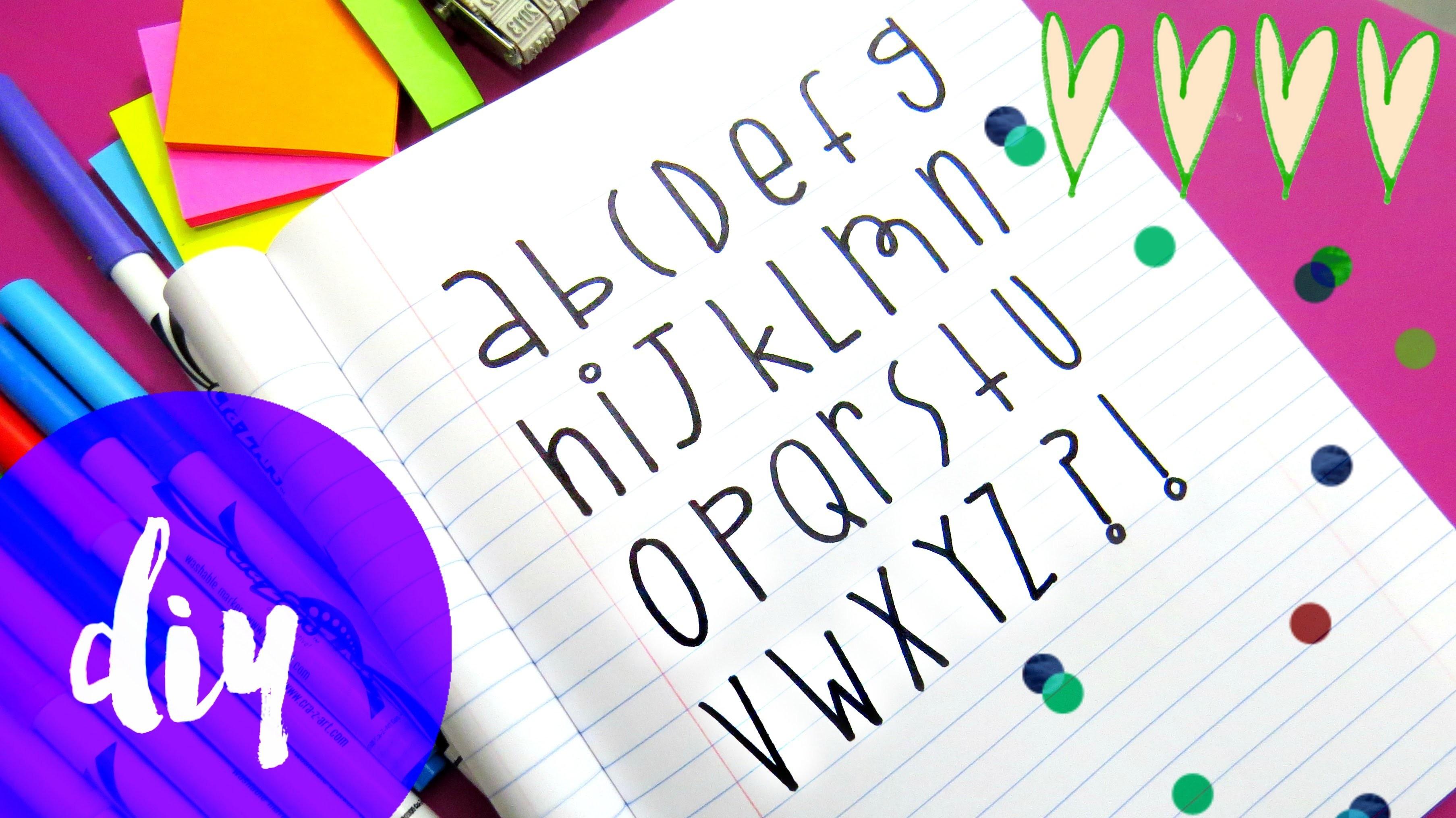 letras bonitas paso a paso 3