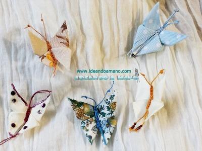 Mariposas de tela fáciles de hacer