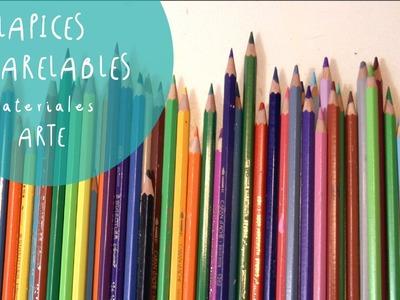 Materiales de Bellas Artes: LAPICES ACUARELABLES que son, como se utilizan y diferentes marcas