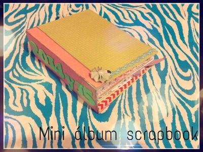 Mini álbum Scrapbook (Inspiracion)- MedicenYessi