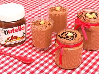 Mousse de Nutella súper Deliciosa!