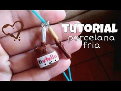 Nutella (•ᴗ•)❤PORCELANA FRIA