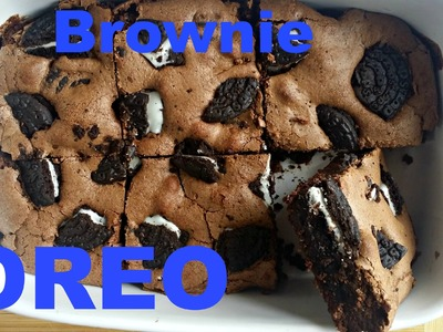 Receta:  Brownie de Oreo