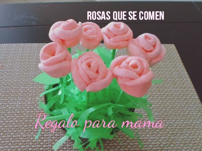 REGALO PARA EL DÍA DE LAS MADRES O SAN VALENTIN | ROSAS DE BOMBON.