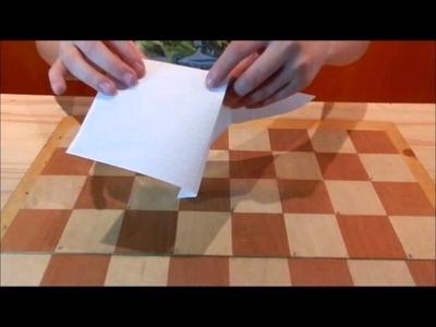 Secutrece JLB - Ajedrez, Alfil de papel, Origami