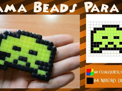 Space Invaders (Parte 3) - Tutorial Hama Beads. Perler Beads