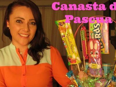 Super Linda Canasta de Pascua con Dulces!