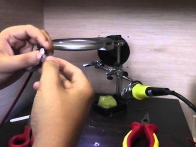 Tutorial como fabricar una farola en miniatura