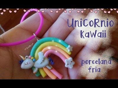 Unicornio KaWaii PORCELANA FRIA