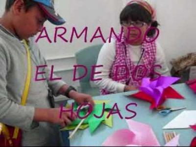 ARMANDO UN REHILETE CON 1, 2 Y 8 HOJAS DE PAPEL